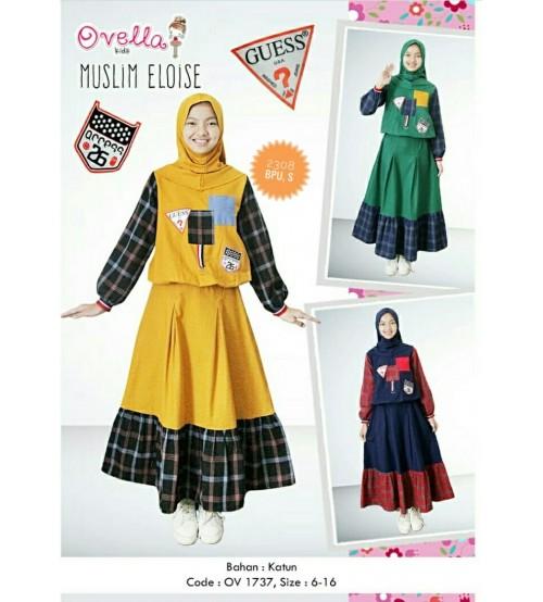 baju muslim eloise anak