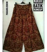 kulot batik kuncup