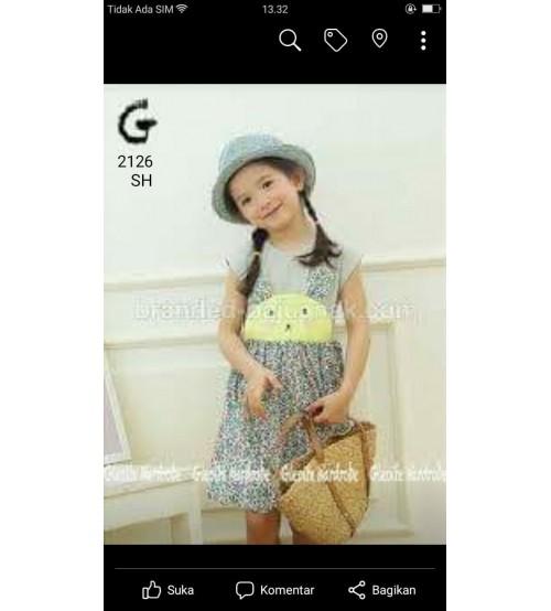 dress cantik anak