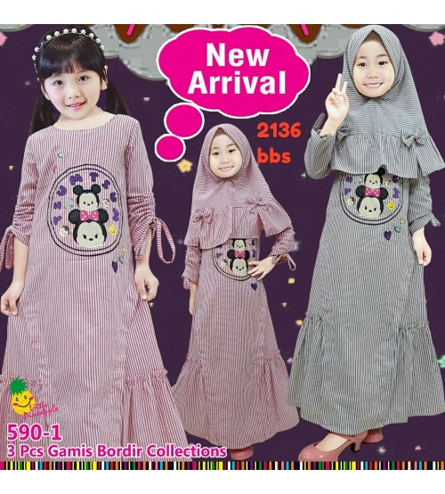 gamis bordir collections
