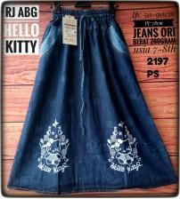 rok jeans anak cantik