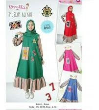 baju muslim aliyah anak