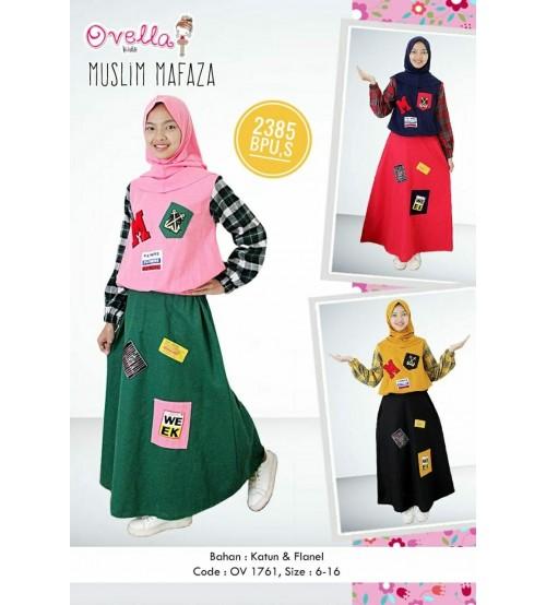 baju muslim remaja ovella