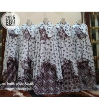mukena rayon motif batik