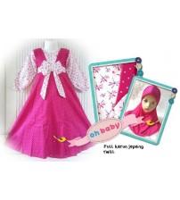 Gamis Labella Pink