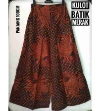 Celana Kulot Batik Merah