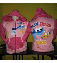jaket anak lucu baby shark
